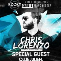 KOOKY 2015 Opening Party Presents: CHRIS LORENZO + SPECIAL GUEST