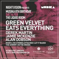 Nightvision presents Musika 8th Bday with Green Velvet + more