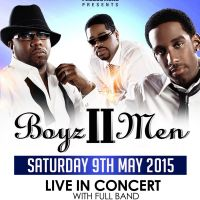 Boyz II Men live in concert with full backing Band.