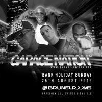 Garage Nation at the Brunel Rooms