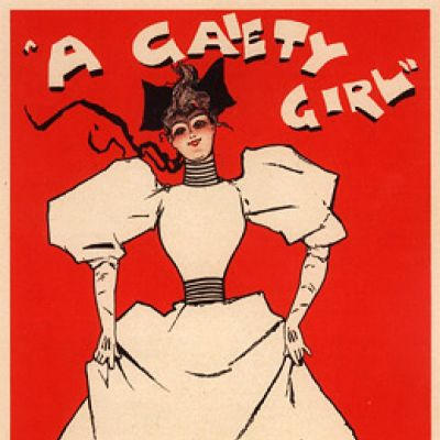 A Gaiety Girl (1893) | Westminster Reference Library London  | Tue 9th April 2013 Lineup