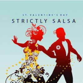 Strictly Salsa Valentine's Dance | Cre8 Life Style Centre London  | Sat 14th February 2015 Lineup