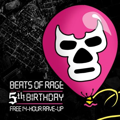 Beats of Rage 5th Birthday! | The Adelphi Preston  | Sat 29th September 2012 Lineup