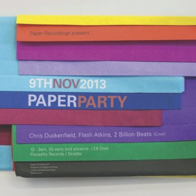 Paper Recordings Party Tickets | Twenty Twenty Two Manchester  | Sat 9th November 2013 Lineup